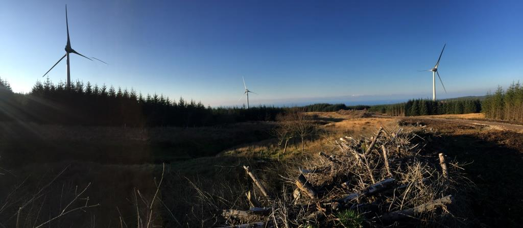Haggis Neeps & Tatties Glenbarr Wind turbines