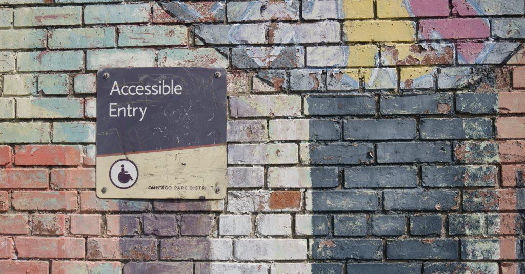 Accessible Entry by Daniel Ali on unsplash
