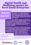Rural mental health and wellbeing session